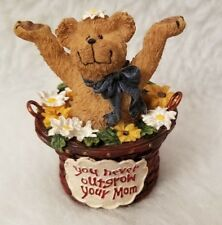 NEW Boyds Collection Basketbearies 2004 Kiddo You Never Outgrow Your Mom