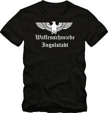 Waffenschmiede Ingolstadt  Für Audi  Fahrer T-Shirt   bis 5 XL Funshirt