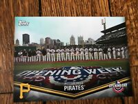 Pittsburgh Pirates 2018 Topps Opening Day Opening Day at the Ballpark Insert