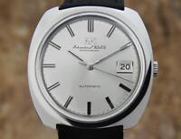 IWC International Watch Company 1970s Stainless Swiss Vintage 36.5MM Watch NS22