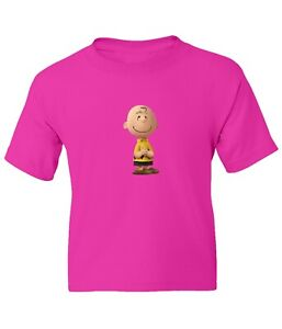 Peanuts Snoopy Charlie Brown Kid Girl Boy Youth Unisex Crew Neck Short T-Shirt