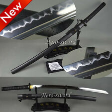 Special Price High Carbon Steel Clay Tempered KATANA Very Sharp Japanese Sword