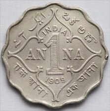 BRITISH INDIA 1 ONE ANNA KM 504 EDWARD VII 1909