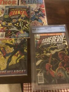 Daredevil # 168 / Spider-man # 101-102 / Thor #337 - 339 / NOVA # 1 X-men 95,109