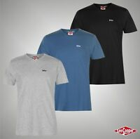 Mens Lee Cooper Essentials V Neck T Shirt Top Sizes from S to XXL
