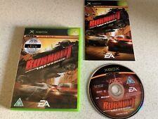 Burnout Revenge Original OLD Xbox Spiel Jungen Mädchen Autos Racing fastpost