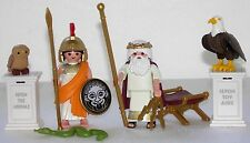Playmobil 9149 9150 Athena Zeus Dios Edición Limitada Polietileno Sellado