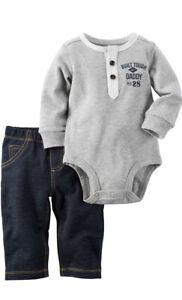 Carter's Baby Boys' Bodysuit Pant Set