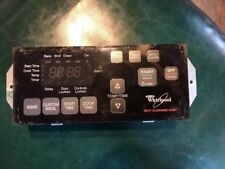 New listing Whirlpool Range Control Circuit Board 8524300 Button Pad Overlay Housing