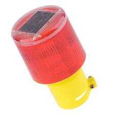 LED Solar Strobe Warning Caution Light Traffic Beacon Lamp  JS-02