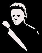 Michael Myers vinyl decal sticker, for car windows laptops