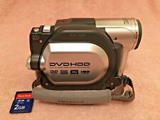 Hitachi DZ-HS300A DVD/HDD Hybrid Camcorder - 25x Optical Zoom + Battery & Extras