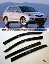For Acura RDX 2007-2012, Windows Visors Deflector Sun Rain Guard Vent