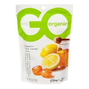 Go Organic Hard Candy Honey 'n Lemon