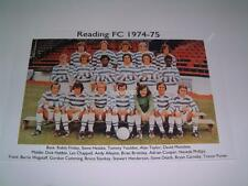 READING FC 1974-75 ROBIN FRIDAY STEVE DEATH DICK HABBIN PHOTOGRAPH