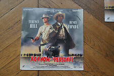 "Laserdiscs Mon nom est personne Pal Laser LD ""my name is nobody"" Terence Hill"