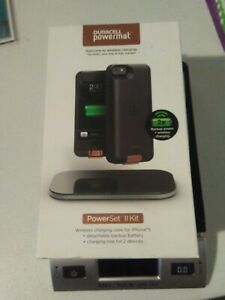 New NIB Duracell Powermat II Kit For iPhone 5 And 5s Wireless Charging Kit