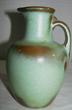 Vintage Mid Century Prairie Green Frankoma Jug Pitcher, 7 Inches Tall, Pottery