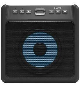 🔥BRAND NEW iHome LED Color Changing Speaker Subwoofer Bluetooth IBT5880