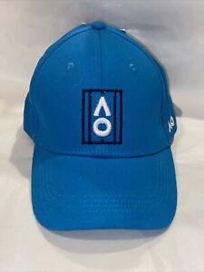 Australian Open Tennis Adjustable Court Logo Hat Blue Australia Aussie