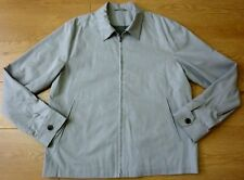 Next Tailoring Men's Slim Fit Wind Cheater Lite Grey Jacket Size Large