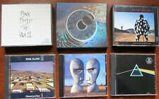 """9- PINK FLOYD CD'S """"PULSE-THE WALL-THE DIVISION BELL-THUNDER-+MORE"""" PREOWNED"""