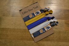 Set of Five Pitt Panthers FOE Hair Ties Football No Pull No Crease