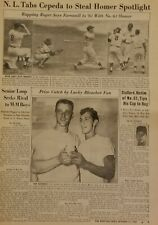 October 11, 1961 The Sporting News Roger Maris Mickey Mantle World Series