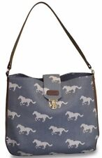 Sloane Ranger Grey Horse Shoulder Bag (SALE!) Tally Ho!