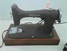 VINTAGE SAMPSONITE  SEAMSTRESS ROTARY REVERSEW SEWING MACHINE  COMPLETE