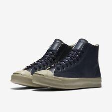 Converse JACK PURCELL SIGNATURE HI Inked/Fryed Burlap Men's Shoes 9