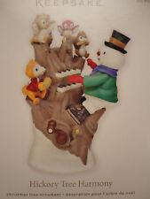 Hallmark Ornament HICKORY TREE HARMONY Magic NEW snowman keyboard Jingle B 2011