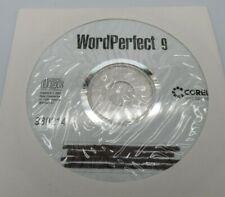 Corel WordPerfect 9 - New Windiows CD
