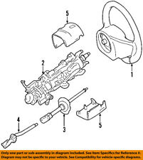 FORD OEM Steering Column-Upper Shaft 3W1Z3B676AB