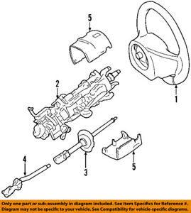 FORD OEM-Steering Column 7W1Z3C529A