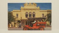 Disneyland Park Vintage 1950s Main St Surrey Postcard A6 Horseless Carriage