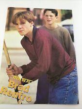 Vintage 90s Pinup Brad Renfro + Boyz II Men Boys 2 Mag Teen Color Pin-Up 1 Page