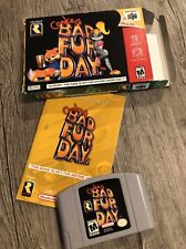 Conker's Bad Fur Day (Nintendo 64 N64, 2001) Conkers Complete in Box