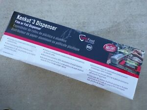 "Tablecraft Kenkut 3 Dispenser for 12-18"" Film or Foil Wrap; tS"