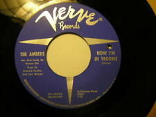 The Ambers 45 On Verve I Love You Baby/Now I'm In Trouble (Northern Soul)