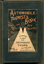 AUTOMOBILE TOURIST'S BOOK OF NEW ENGLAND by Anonymous ~ 1912 ~ First Printing
