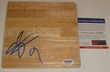Serge Ibaka signed Floor NBA Toronto Raptors Oklahoma City Thunder PSA/DNA