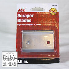 "ACE 2-Edge Replacement Scraper Blade 2.5"" REPLC SCRAPER BLADE 1337716"
