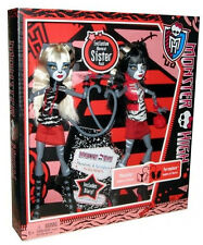 MONSTER HIGH WERECAT SISTERS EXCLUSIVE 2 PACK ORIGINAL 2012 MEOWLODY PURRSEPHONE