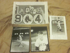 Ted Williams 2nd Generation Photo Lot 8 Different