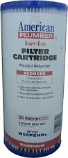 American Plumber W50PEHD 50 Micron Cartridge Filter Whole House 155053-51