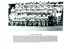 1973 NEW ORLEANS SAINTS 8X10 TEAM PHOTO  FOOTBALL NFL MANNING HOF USA
