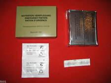 BW Rations de survie ration armée M Eau Comprimés U thé d'extrait MRE EPA