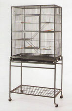 Large 3 Level Ferret Chinchilla Sugar Glider Mice Rat Cage #15A Black - 555