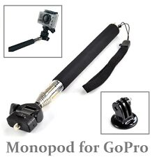 Designo Selfie Stick for Gopro Hero 6 5 4 3+/2 1 HD Camera Photos Extendable